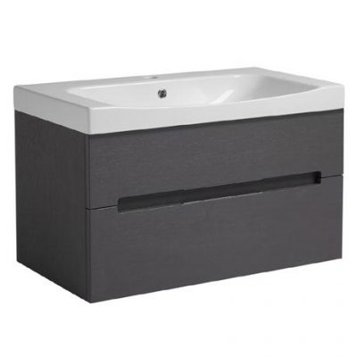 Roper Rhodes Diverge 800mm Wall Mounted Unit with Ceramic Basin