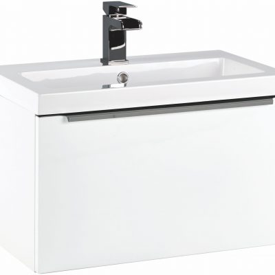 Scudo Muro 600mm Wall Hung Vanity Unit with Basin